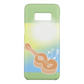 Capa Case-Mate Samsung Galaxy S8 A música da caixa da guitarra acústica S8 nota
