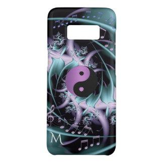 Capa Case-Mate Samsung Galaxy S8 A música de Yin-Yang da harmonia nota a caixa da