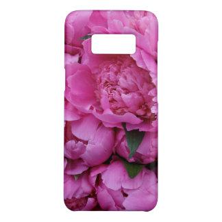 Capa Case-Mate Samsung Galaxy S8 A peônia cor-de-rosa luxúria floresce o teste