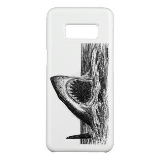 Capa Case-Mate Samsung Galaxy S8 ABRA galáxia S8 de Samsung do tubarão branco das