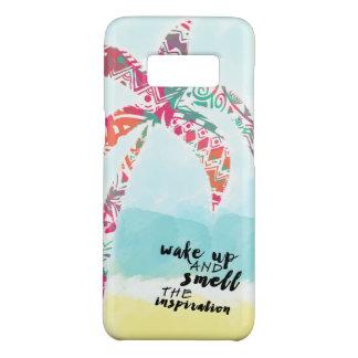 Capa Case-Mate Samsung Galaxy S8 acorde e cheire a inspiração, a praia e a palma