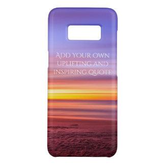Capa Case-Mate Samsung Galaxy S8 Adicione sua própria imagem de inspiração da praia