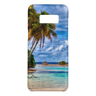 Capa Case-Mate Samsung Galaxy S8 Aguarela havaiana da praia do verão bonito bonito