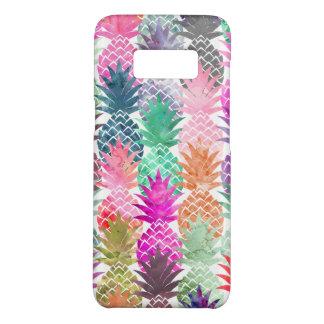 Capa Case-Mate Samsung Galaxy S8 Aguarela tropical moderna do pastel dos abacaxis