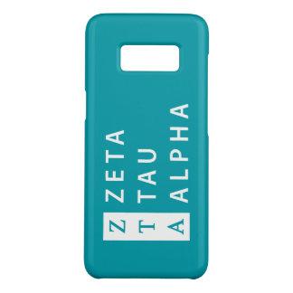 Capa Case-Mate Samsung Galaxy S8 Alfa da tau do Zeta empilhado