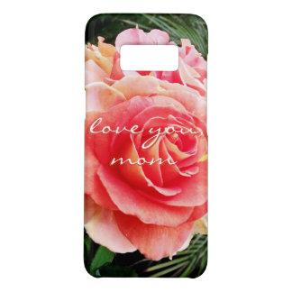 """Capa Case-Mate Samsung Galaxy S8 """"Ame-o foto do Fim-acima do rosa do rosa das"""