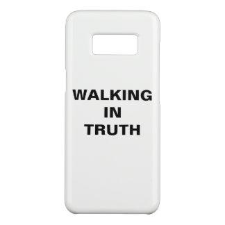 """Capa Case-Mate Samsung Galaxy S8 """"Andando caixa da galáxia S8 de Samsung na"""