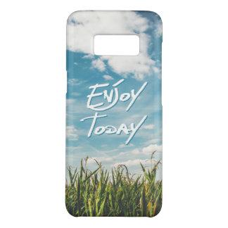 """Capa Case-Mate Samsung Galaxy S8 """"Aprecie hoje"""" o horizonte verde do céu azul do"""