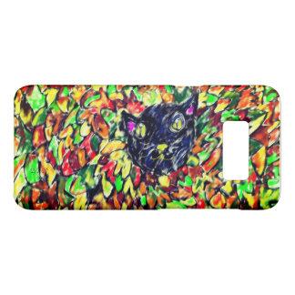 Capa Case-Mate Samsung Galaxy S8 arte 2 do gato preto