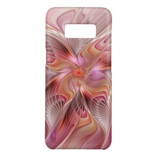 Capa Case-Mate Samsung Galaxy S8 Arte colorida do Fractal da fantasia da borboleta
