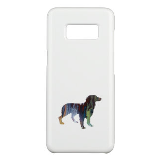 Capa Case-Mate Samsung Galaxy S8 Arte do cão de Brittany