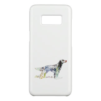 Capa Case-Mate Samsung Galaxy S8 Arte do setter inglês