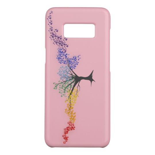 Capa Case-Mate Samsung Galaxy S8 Árvore de borboletas coloridas
