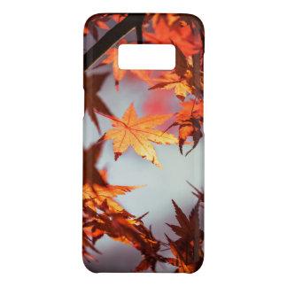 Capa Case-Mate Samsung Galaxy S8 Árvore de bordo vermelha das folhas de outono da