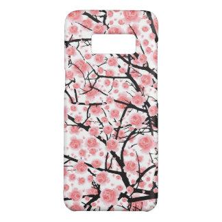 Capa Case-Mate Samsung Galaxy S8 Árvore de sakura do rosa da flor completa (flor de
