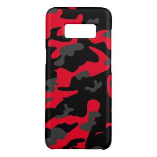 Capa Case-Mate Samsung Galaxy S8 As forças armadas pretas vermelhas do exército de