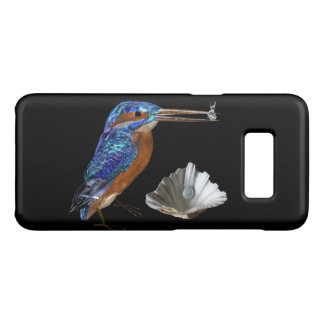 Capa Case-Mate Samsung Galaxy S8 Azul elétrico do MARTINHO PESCATORE, do MAR SHELL