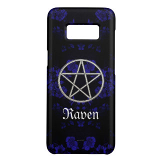 Capa Case-Mate Samsung Galaxy S8 Azul eterno gótico do Pentacle