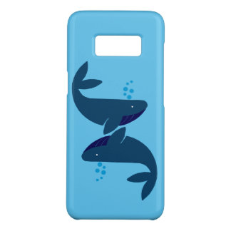 Capa Case-Mate Samsung Galaxy S8 baleias azuis