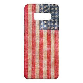Capa Case-Mate Samsung Galaxy S8 Bandeira americana envelhecida