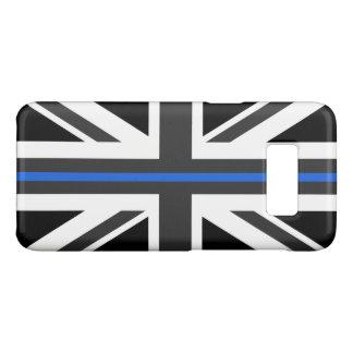 Capa Case-Mate Samsung Galaxy S8 Bandeira fina de Blue Line Reino Unido
