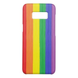 Capa Case-Mate Samsung Galaxy S8 Bandeira pintada do arco-íris