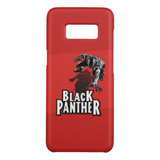 Capa Case-Mate Samsung Galaxy S8 Black panther RED