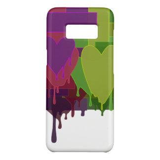 Capa Case-Mate Samsung Galaxy S8 Blocos da cor que derretem corações
