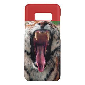 Capa Case-Mate Samsung Galaxy S8 Bocejo do tigre, presas, língua