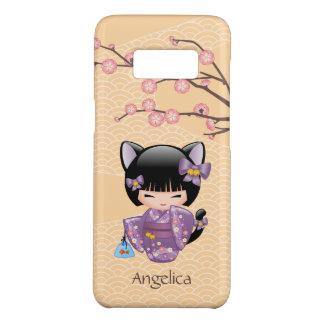Capa Case-Mate Samsung Galaxy S8 Boneca de Neko Kokeshi - menina de gueixa das