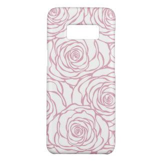 Capa Case-Mate Samsung Galaxy S8 bonito, floral.pink, branco, peônias, femininos,