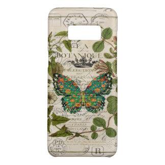 Capa Case-Mate Samsung Galaxy S8 borboleta de monarca botânica do país francês do