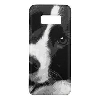 Capa Case-Mate Samsung Galaxy S8 Border collie preto e branco