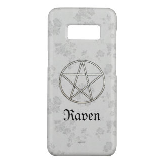 Capa Case-Mate Samsung Galaxy S8 Branco eterno gótico do Pentacle