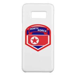 Capa Case-Mate Samsung Galaxy S8 Brasão da bandeira da Coreia do Norte