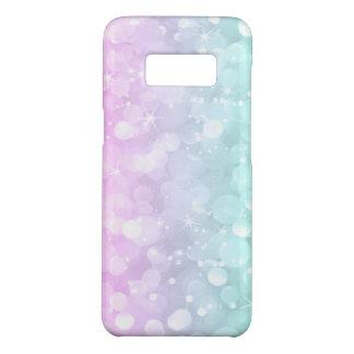 Capa Case-Mate Samsung Galaxy S8 Brilho cor-de-rosa & verde da luz - de Bokeh do