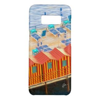 Capa Case-Mate Samsung Galaxy S8 Cabanas chiques elegantes de Sorrento