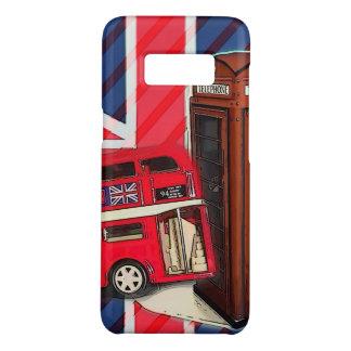 Capa Case-Mate Samsung Galaxy S8 Cabine de telefone vermelha do ônibus retro de