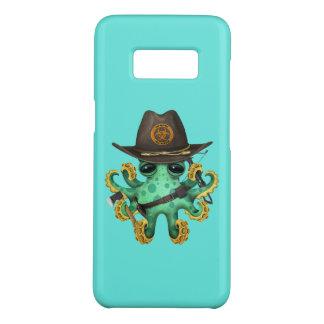 Capa Case-Mate Samsung Galaxy S8 Caçador verde do zombi do polvo do bebê