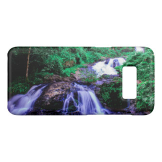 Capa Case-Mate Samsung Galaxy S8 Cachoeira tropical do rio da floresta húmida