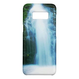 Capa Case-Mate Samsung Galaxy S8 Cachoeira tropical pequena da floresta húmida