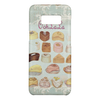 Capa Case-Mate Samsung Galaxy S8 café do francês do chocolate da pastelaria da