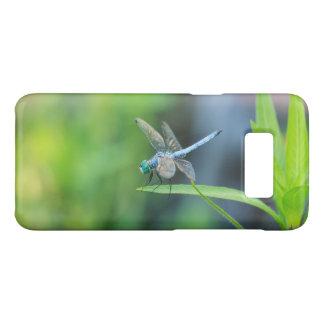 Capa Case-Mate Samsung Galaxy S8 Caixa azul da galáxia S8 de Samsung da libélula