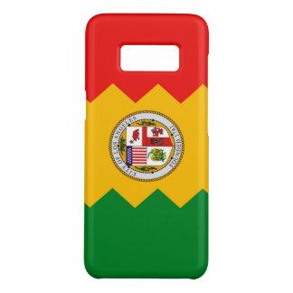 Capa Case-Mate Samsung Galaxy S8 Caixa da galáxia S8 de Samsung com bandeira de Los