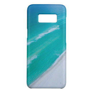 Capa Case-Mate Samsung Galaxy S8 Caixa da galáxia S8 de Samsung - mar azul