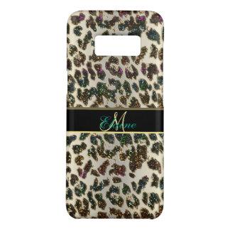 Capa Case-Mate Samsung Galaxy S8 Caixa da galáxia S8 do leopardo do brilho do