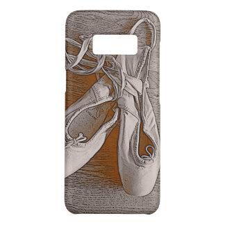 Capa Case-Mate Samsung Galaxy S8 Calçados elegantes do dançarino de balé do rosa
