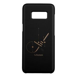 Capa Case-Mate Samsung Galaxy S8 caligrafia árabe moderna - Líbano
