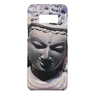 Capa Case-Mate Samsung Galaxy S8 Calma, foto de pedra asiática do Fim-acima da