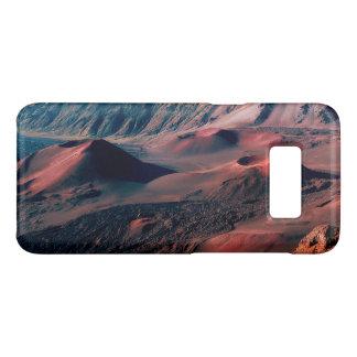 Capa Case-Mate Samsung Galaxy S8 Campos havaianos da cratera do vulcão